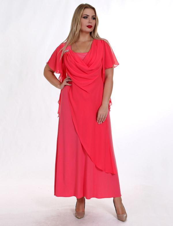 G 2138 Платье вечернее с накидкой