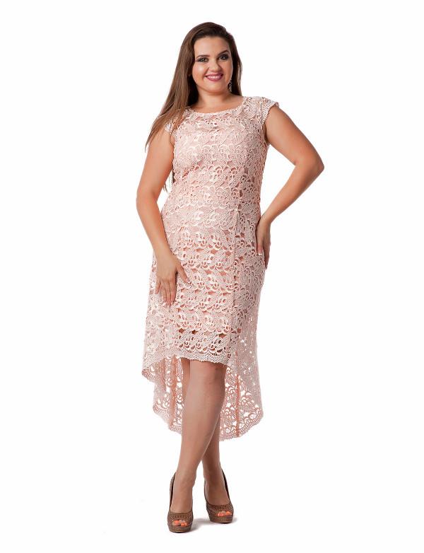 G 2120 Платье вечернее с асимметричным низом