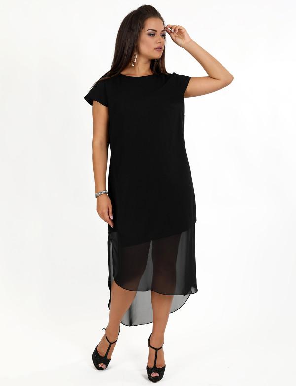 G 3079 Платье вечернее с асимметричным низом