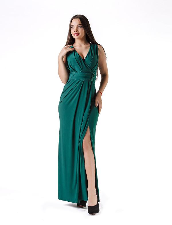 G 3006 Платье вечернее с V-образным вырезом