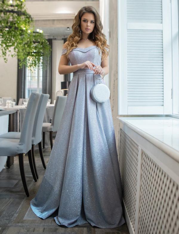 G 2375 Платье вечернее с градиентом