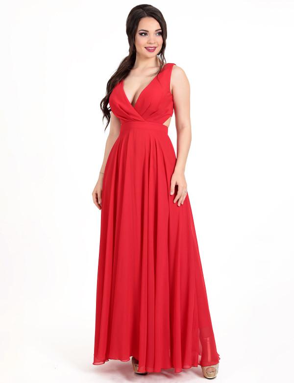 G 3056 Платье вечернее с корсетной застежкой на спине