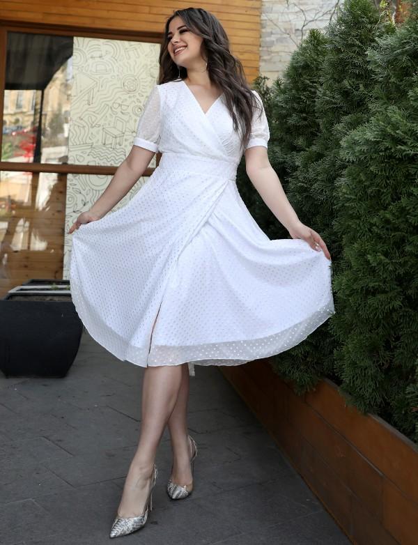 OP 2083 Платье коктейльное из шифона