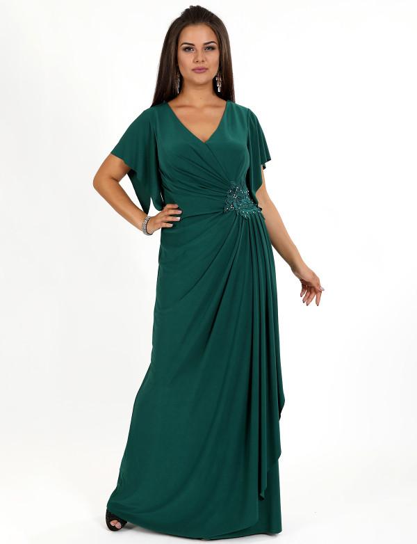G 2208 A Платье вечернее с вышивкой