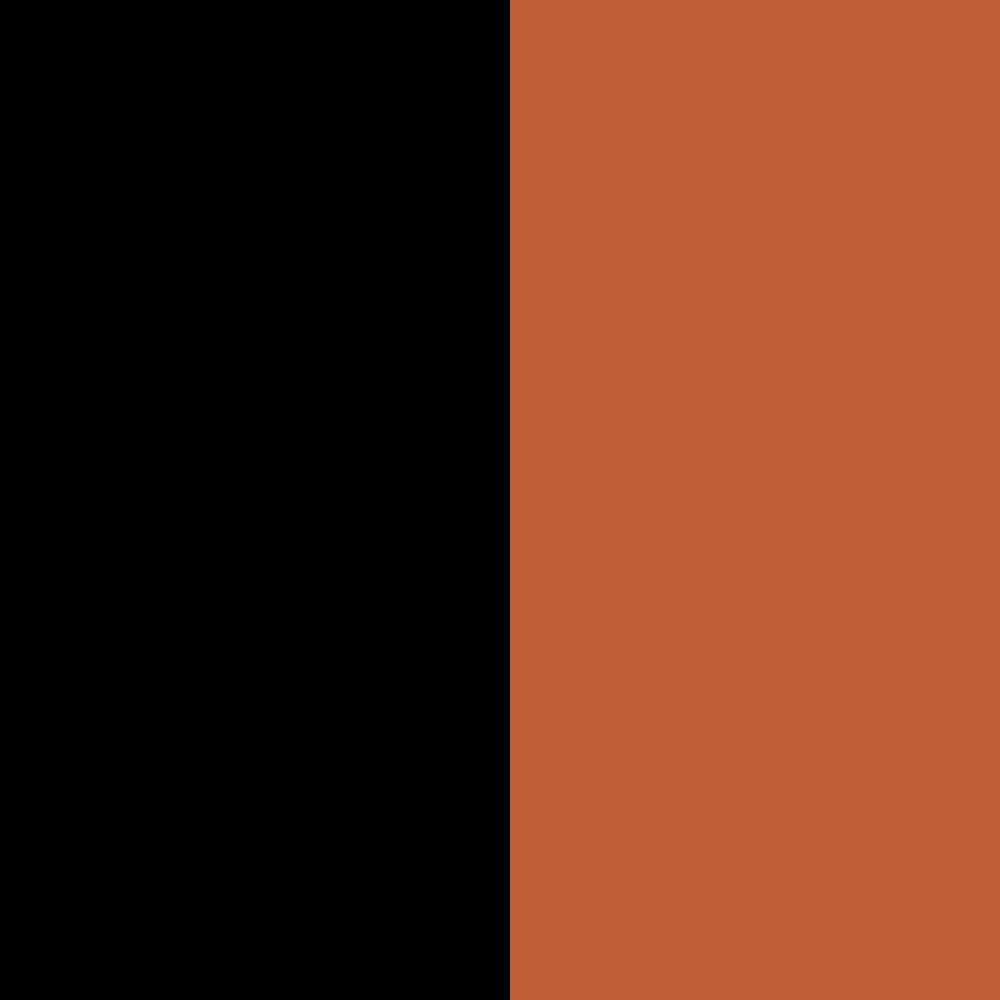 Black+Orange red