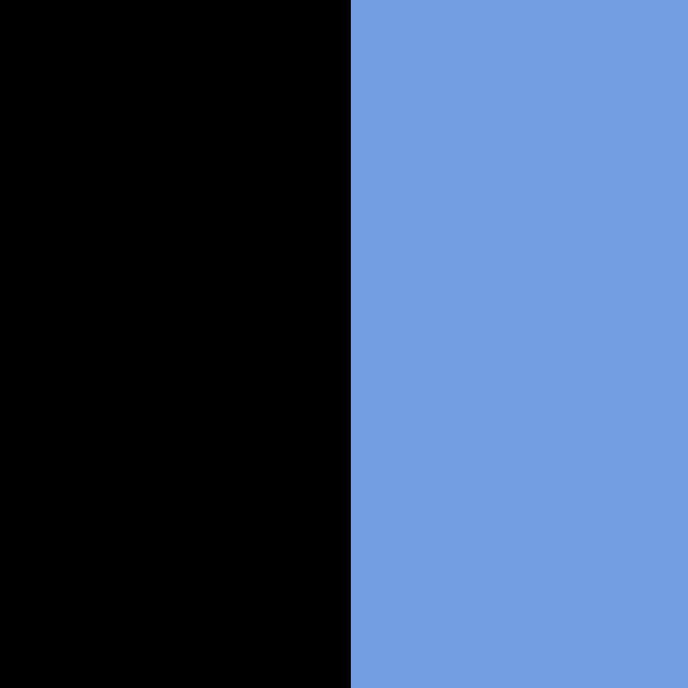 Black+Royal Blue